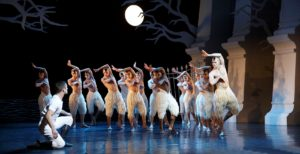 Matthew Bourne's all-male version of SWAN LAKE at Sadler's Wells, London in 2013 ©Donald Cooper/Photostage