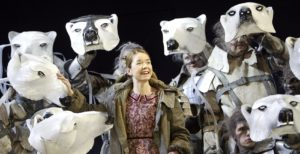 Anna Maxwell Martin in HIS DARK MATERIALS by Philip Pullman at the National Theatre, London in 2004 ©Donald Cooper/Photostage