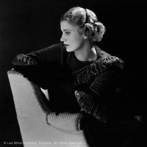 Self portrait with headband, New York Studio, New York, USA, c1932 © Lee Miller Archives