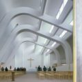 Church at Riola di Vergato, near Bologna, 1978 by architect Alvar Aalto ©Richard Einzig / Arcaid Images