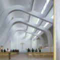 Church at Riola di Vergato, near Bologna, 1978 by architect Alvar Aalto ©Richard Einzig / Arcaid Images