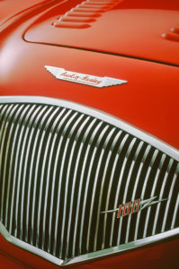 Austin Healey 100-6 1956 grille detail ©National Motor Museum/MPL