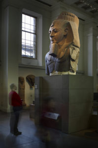 Colossal bust of Ramses II, the 'Younger Memnon', in Gallery 4 © The British Museum / Trustees of the British Museum