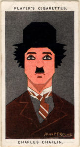 Charlie Chaplin by Alexander ('Alick') Penrose Forbes Ritchie