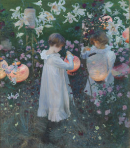 Carnation, Lily, Lily, Rose, 1885-6. John Singer Sargent. Photo © Tate (N01615)