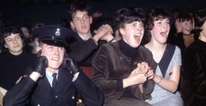 Frenzied Beatles fans watching the band perform in Manchester, in November 1963 ©PA Archive/PA Images