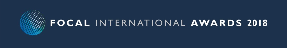 FOCAL International Awards 2018