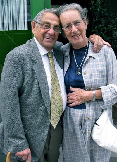 Frank & Elizabeth Selby July 2013 ©Barry Peake