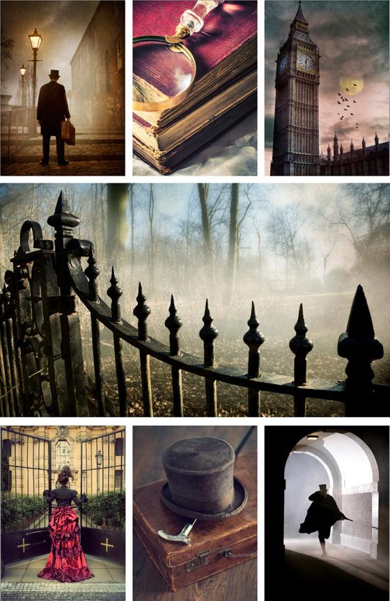 Trevilllion Images Sherlock Holmes collage