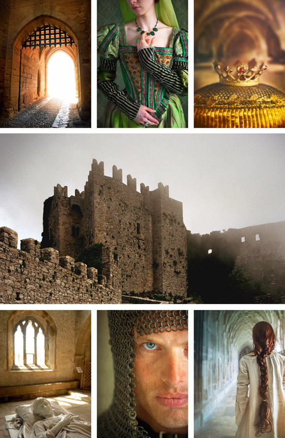 medieval themed image collage ©Trevillion Images
