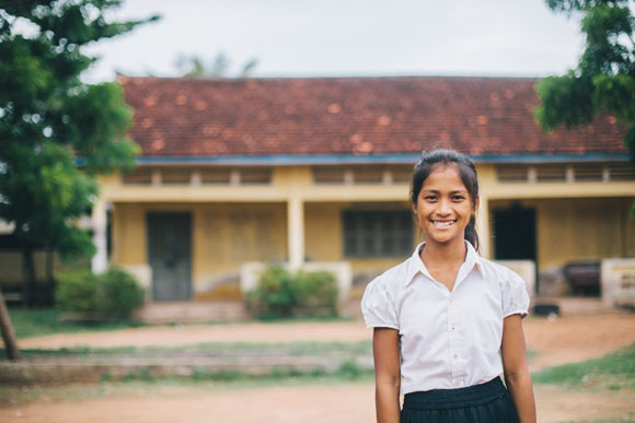 Primary school, Pong Teuk, Cambodia © 2016 Robert Harding World Imagery, All rights reserved.