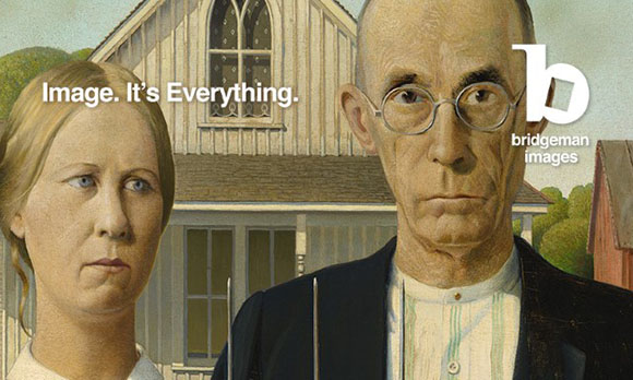 American Gothic, 1930 by Grant Wood (1891-1942) The Art Institute of Chicago, IL, USA / Friends of American Art Collection / Bridgeman Images All rights reserved Wood Graham Beneficiaries and Figge Art Museum / VAGA, New York