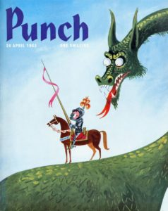 Punch (Front cover, 24 April 1963)