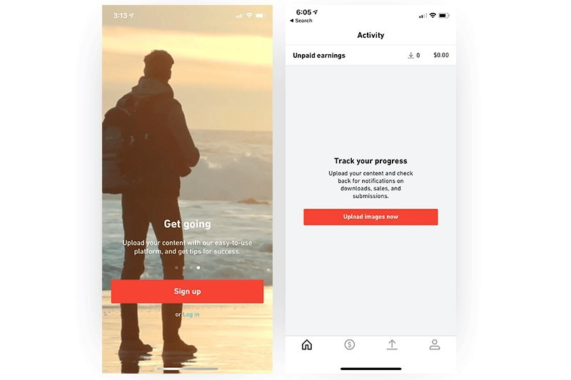 Shutterstock Launches In-App Contributor Registration for the Mobile-First Generation
