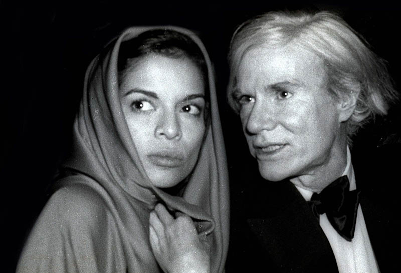 Bianca Jagger Andy Warhol at Studio 54, 1978. Date: 1978