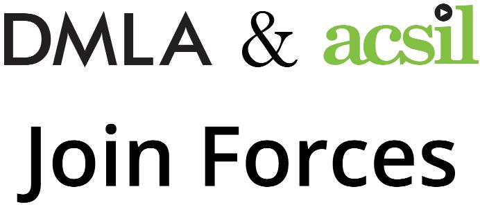 DMLA and ACSIL logos