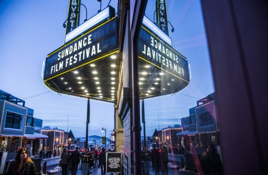 General view of Atmosphere at the Sundance Film Festival ©Mark Sagliocco / Getty Images