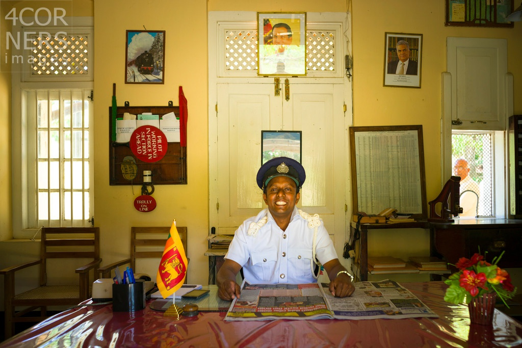 The Station Master, Sri Lanka