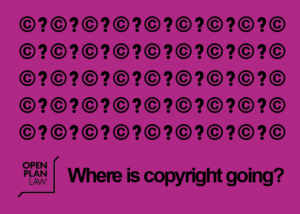 Where is copyright going?