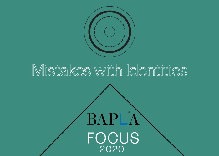 Mistakes with Identities