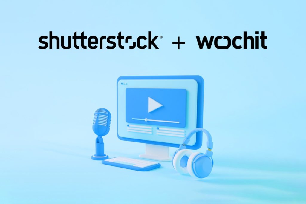 Shutterstock and Wochit will share technology and expertise to power enterprise video creation, unlocking new opportunities to help organizations produce authentic, compelling video content.