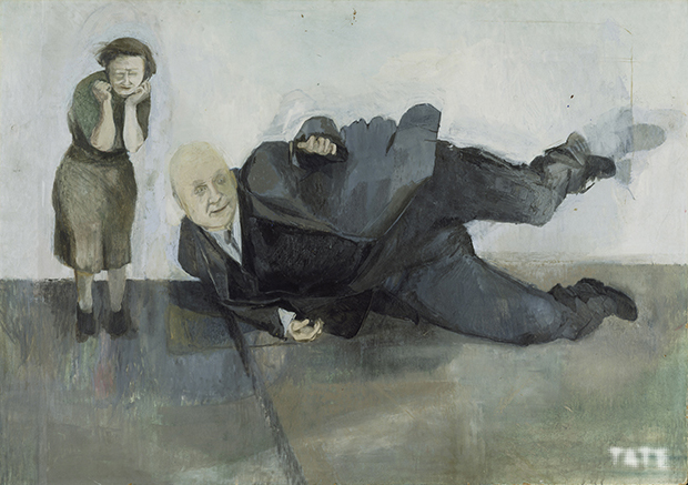 A Man who Suddenly Fell Over 1952; Michael Andrews 1928-1995; © The Estate of Michael Andrews; Photo: Tate