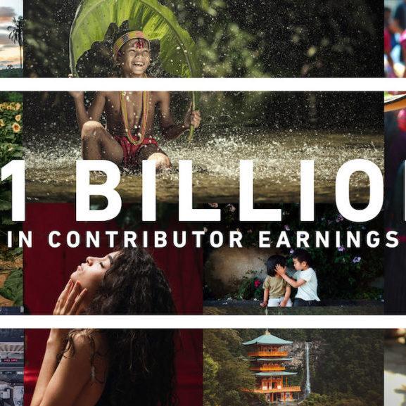 Shutterstock's Global Contributor Community Surpasses $1 Billion in Earnings