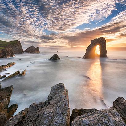 Gaada Stack, Foula, Shetland, Scotland, UK. August, 2016.