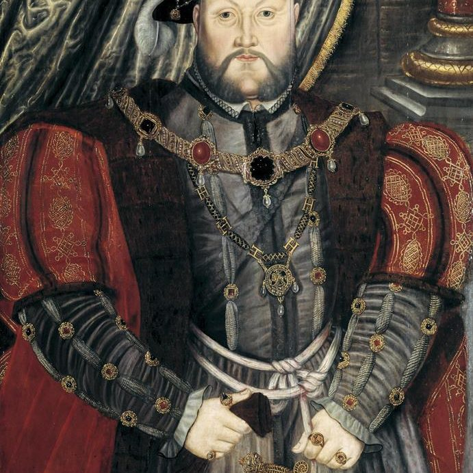 Portrait of Henry VIII, after Holbein. English, late 16th century
