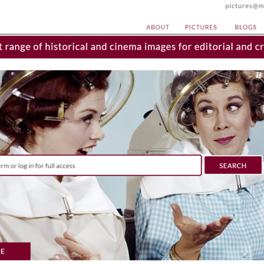 Mary Evans new site