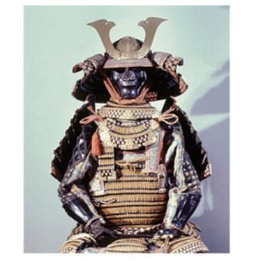 A Tankagle spirit dance mask from Liberia; Samurai armour; and Tutankhamun: Photos: Werner Forman Archive
