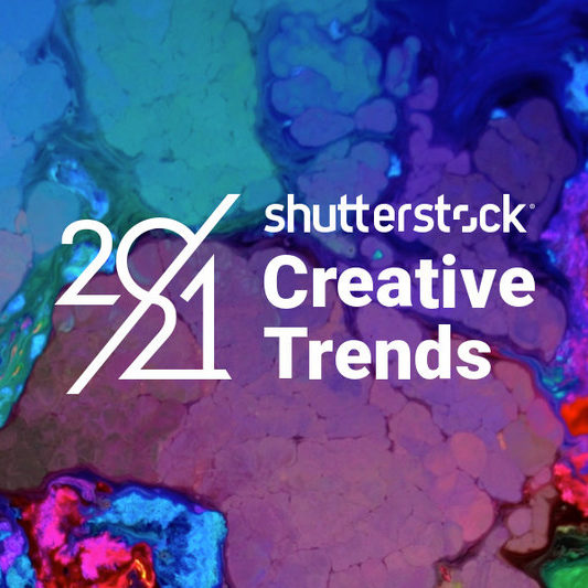 In the 10th anniversary edition of Shutterstock's annual Creative Trends report, the trends centered around individuality, imperfection, authenticity, and escapism.